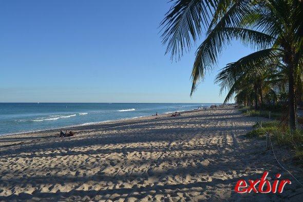 Der Strand von Ft. Lauderdale.  Foto: Christian Maskos