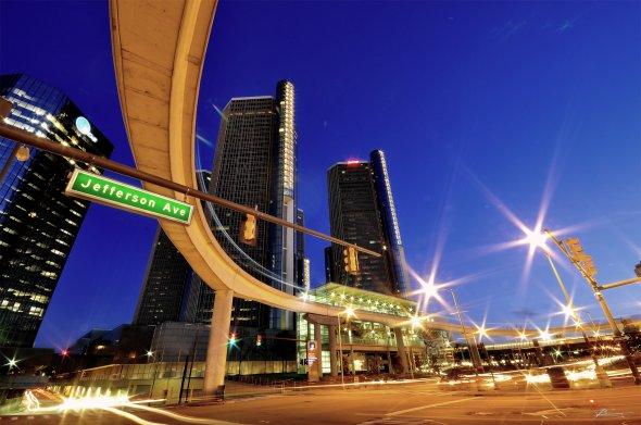 Jefferson Avenue in Detroit