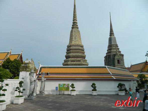 Ein Tempel in Bankgok.  Foto. Christian Maskos