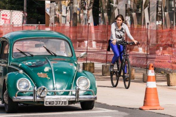 Unterwegs auf den Straßen von Sao Paulo...