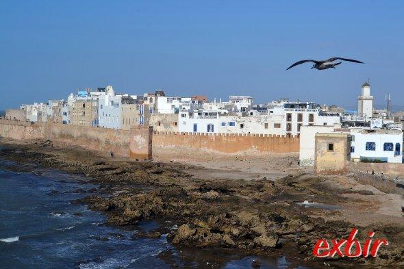 Traumhaft schöne Stadt am Meer: Essaouria.  Foto: Christian Maskos
