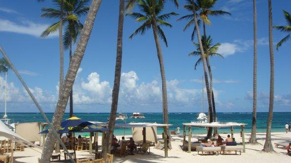 Playa de Punta Cana in der dominikanischen Republik