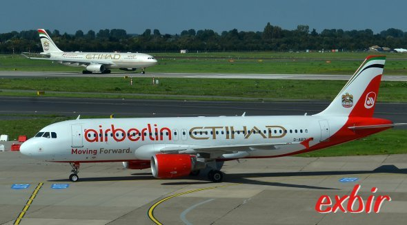 Air Berlin Airbus.  Foto: Christian Maskos