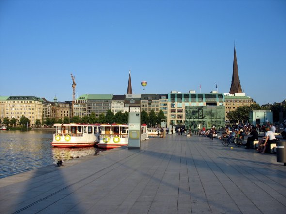 Jungfernstieg Hamburg