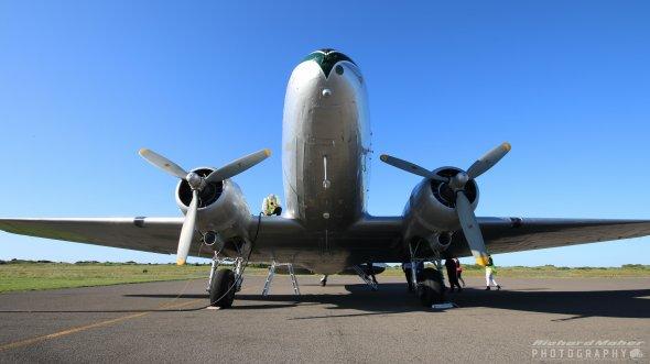 Die DC 3 ZK-AWP  Foto: Air Chathams/ Richard Maher