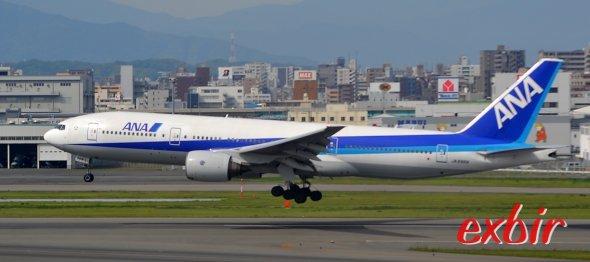Mit ANA geht es von Tokyo nach Los Angeles. Die japaner sind für guten Service bekannt. Foto: Christian Maskos